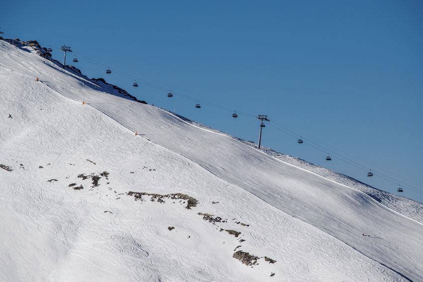 Skiing Clear Sky Cold Temperature Kleine Scheidegg Mountain Outdoors Scenics Ski Holiday Ski Lift Ski Run Sky Snow Snowboarding Swiss Alps Winter