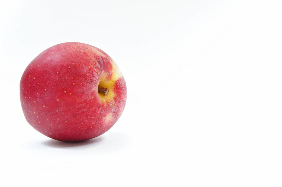 Red apple Isolated Apple - Fruit Close-up Day Food Food And Drink Freshness Fruit Healthy Eating Nature No People Red Red Apple Studio Shot White Background
