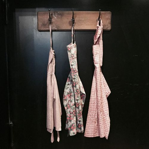 Clothes Hanging On Wall