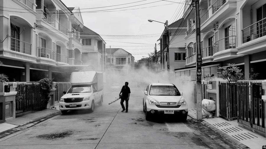 Mosquito killer Mosguito Outdoors Black&white Thailand