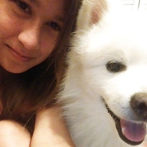 Me and The Adorable Dog I Love!