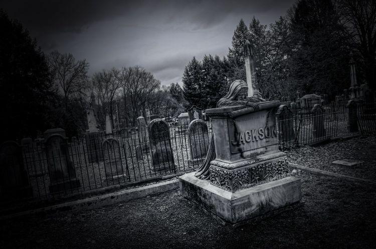 Black & White Cemetery