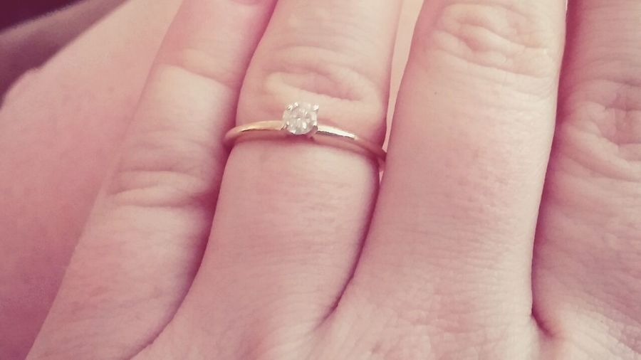 Engagement Ring He Proposed<3 I Said Yes ♡  He Was Nervous I Cried 💕 I Absolutely Love Him