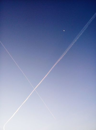 Vapor Trail Sky