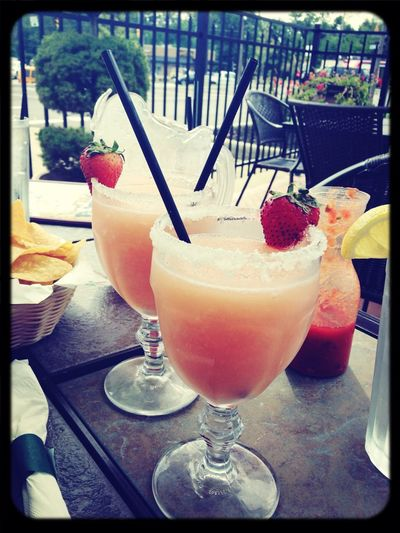 Margarita Friends Lunch Date Mexican Food