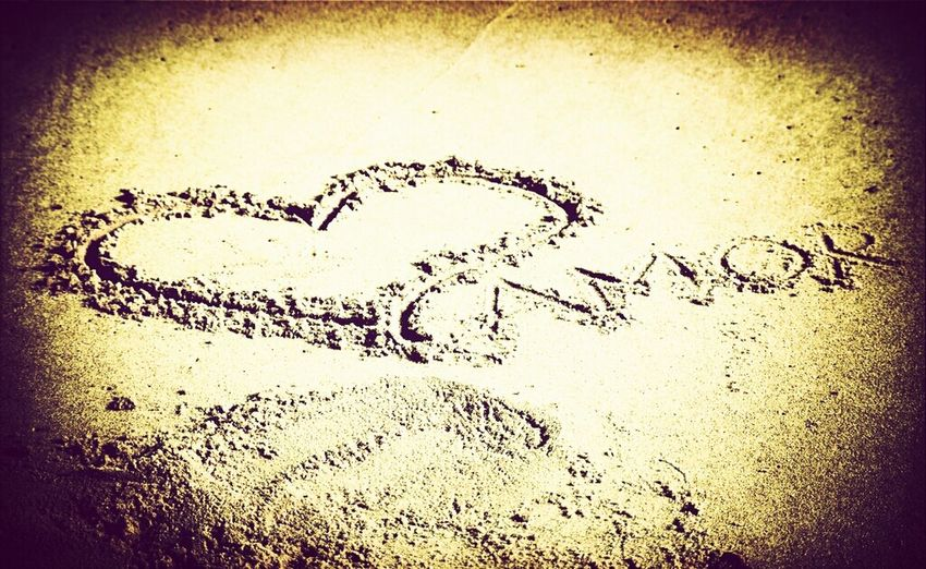 Sand Amor Words Words In The Sand