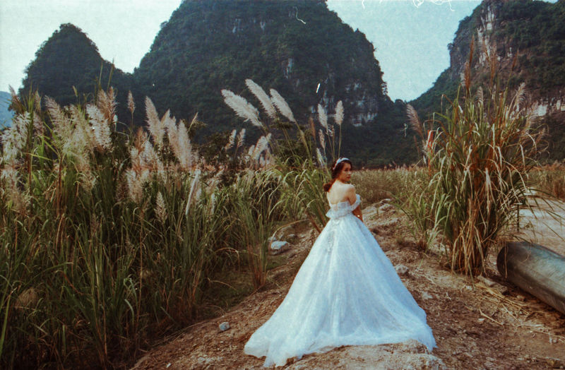 I've spent last December/January photographing Vietnam from North to South in film - while the final series is not going to be published for some time, I'm sharing on EyeEm some of my favourite extras that didn't make it to the final selection. One Person Wedding Nature Land Celebration Newlywed Contemplation Bride Vietnam ASIA