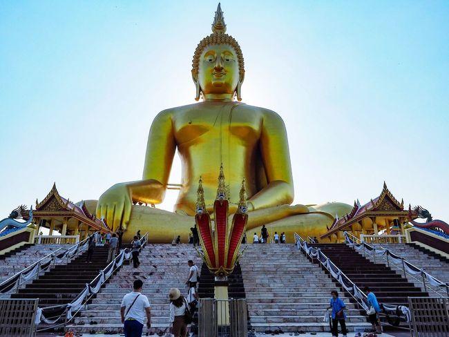 วัดม่วง อ่างทอง ท่องเที่ยวไทยไม่ไปไม่รู้