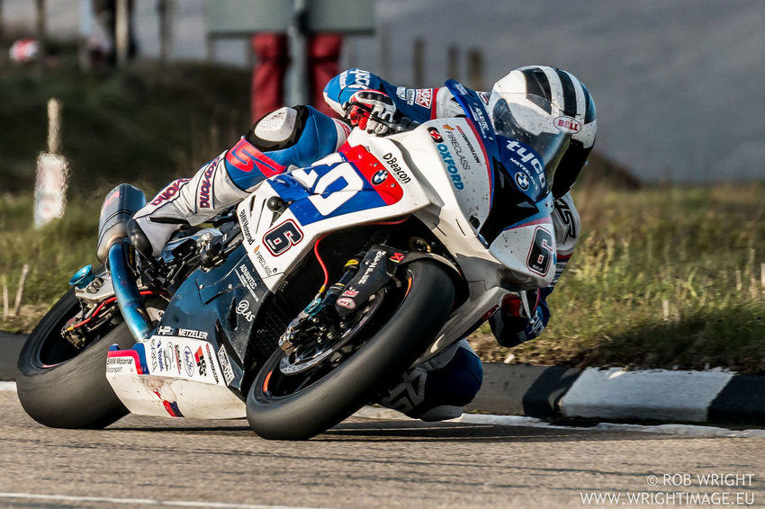 William Dunlop on his BMW S1000RR at the Isle of Man TT races 2015. Isle Of Man Bmw BMW S1000RR IOM Iomtt Road Racing Road Racer Motorcycle Motorbike Motorsport