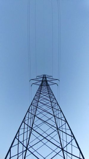 Minimalism architecture Minimalist Architecture Clear Sky Technology Connection Electricity Pylon Electricity  Power Supply Outdoors Day Concentric Simmetry Minimaliste Emiliano Perani