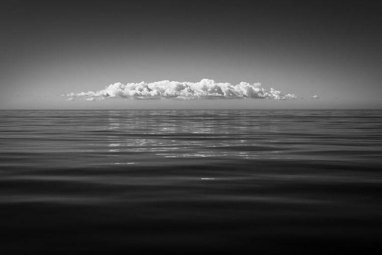 Water Cloud Sea