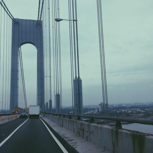 Architecture Suspension Bridge City Bridge Brooklyn