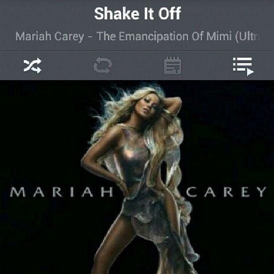 Shake, shake, shake, shake it off MC MariahCarey Mariah Carey Voice Mimi