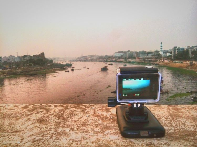 Taking You On My Journey 😎 Actioncam 4k Photography Sadarghat Filming Filming BTS River Life Buriganga River Black Water ..........more.......... Outdoors