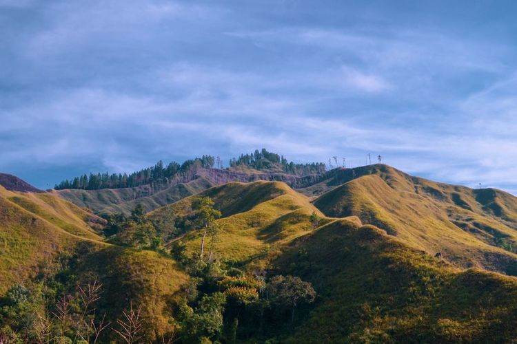 Eyeemphotography Nature_collection Naturelovers Nature_perfection Sky Plant Scenics - Nature Beauty In Nature Cloud - Sky Tranquil Scene Tranquility Mountain Nature No People Landscape Tree Outdoors Mountain Range