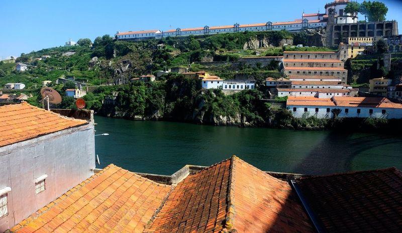 Vila Nova De Gaia City Oporto, Portugal Portugal River Riverside Built Structure Building Exterior