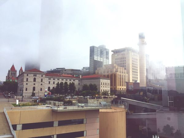 Minnesotaphotographer Saint Paul Foggy Morning Downtown Cityscape City Life Downtown District Urbanphotography From My Window
