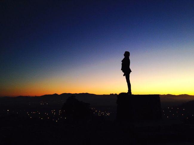 Portrait Of A Friend Girl Sunset Landscape Taking Photos Hello World Enjoying Life EyeEm Best Shots Portrait Nature