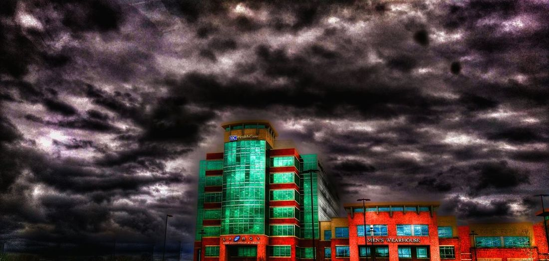 The Impurist Street Photography Cloudscape Darkness And Light Buildings & Sky Drivebyphotography Show-me-state Of Mind