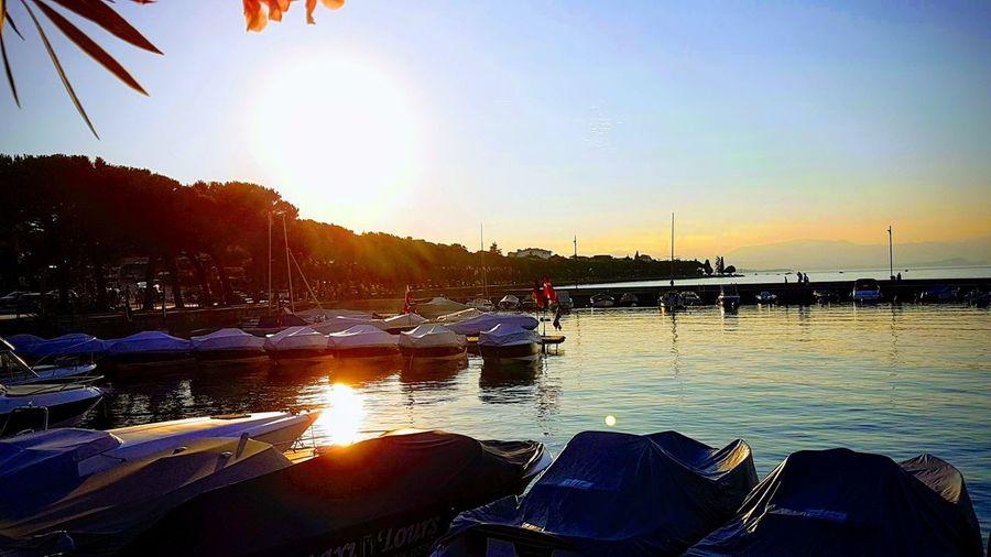 Sunset at Garda