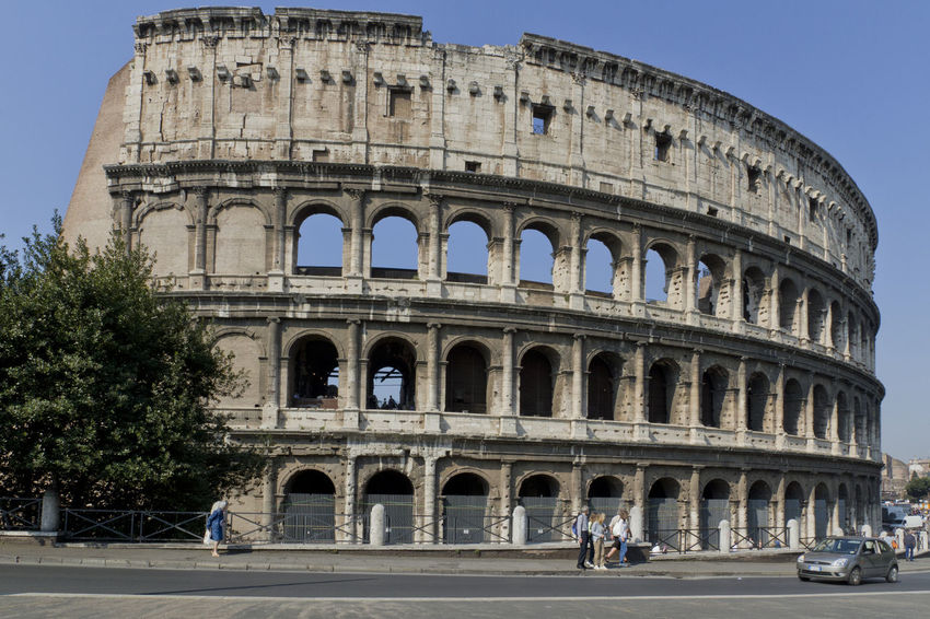 Amphitheater Ancient Arch Architectural Column Architecture Built Structure Capital Cities  City City Life Coliseum Culture Day Façade Famous Place Group Of People History Sold On EyeEm Market Leisure Activity Lifestyles Sold On Getty Images The Past Tourism Tourist Travel Destinations Vacations Your Ticket To Europe Moving Around Rome