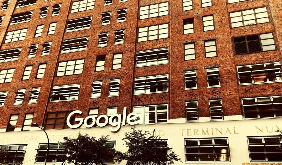 Ask Google..... New York New York City 9th Ave. Architecture Built Structure Building Exterior Window Full Frame Building Backgrounds No People Outdoors City Wall - Building Feature Text Brick