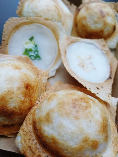 Pan rice cake, Kind of thai sweetmeat Thai Sweets Yummy Close-up Food And Drink Sweet Food Baked