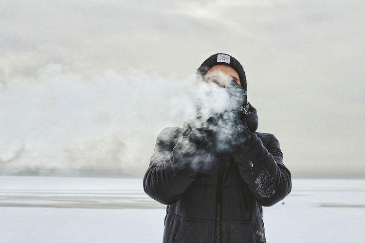 Saint Petersburg Smoking Vape Baltic Sea Man Only Men