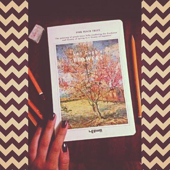 Моя новая радость :З Vangoh Sketchbook скетчбук Fordrawing notebook