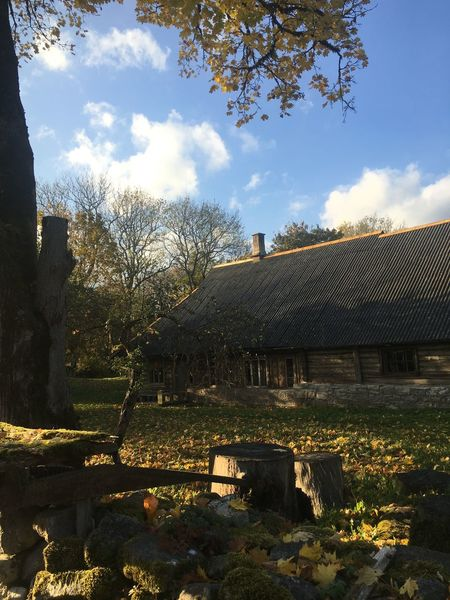 Fishermenvillage Muhu Island Old Buildings Estonia Autumn Baltics2k16