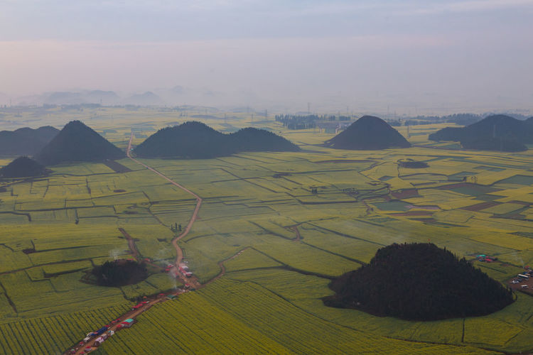 Scenics - Nature Landscape Environment Beauty In Nature Tranquil Scene Nature Land Mountain No People Agriculture Sky Field Tranquility Plant Day Non-urban Scene Rural Scene Outdoors Idyllic Farm