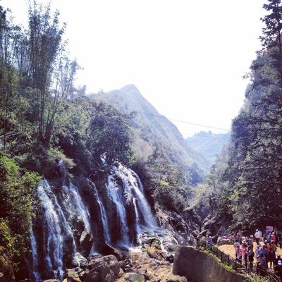 The Great Waterfall, Cat-Cat's signature-nature. Travelling Quality Time
