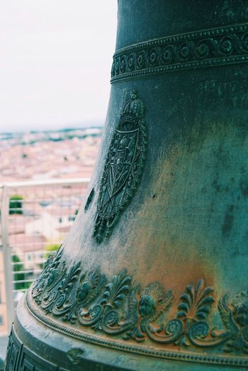 Bell on top of
