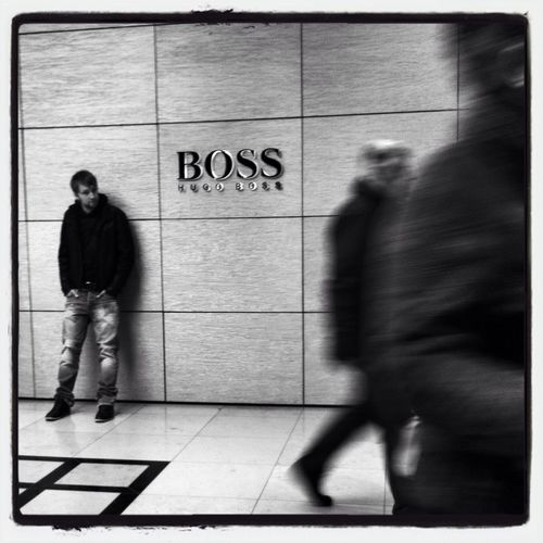 The Boss... Black & White Black And White Blackandwhite Bw_collection