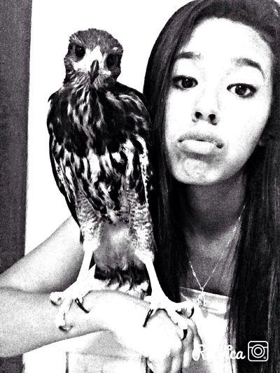Selfie Eagle ✌️😘