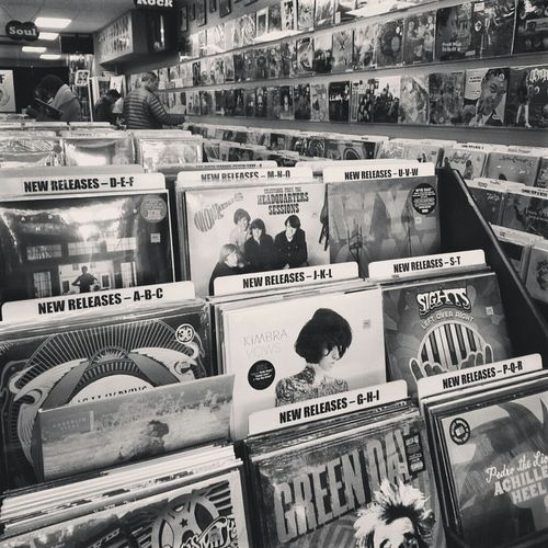 Vinyl Record Shopping