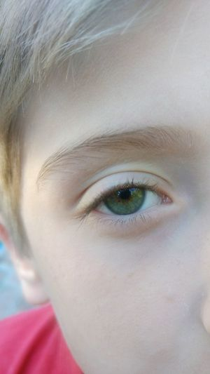 Lil' bro EyeEmNewHere One Person Human Body Part Portrait Human Face Human Eye Looking At Camera Close-up Eyelash Eyebrow Child People Front View