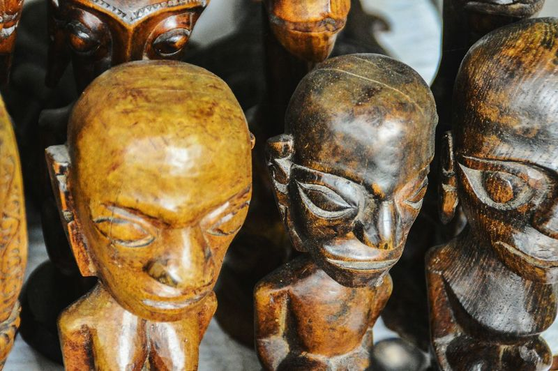 Batak art sold in souvenir shops Travel Souvenirs Exoticism Exotic Exotic Destination Batak  Bataknese Batak Art Batak Culture No People Travel Photography Travel Tourism Souvenirs Ethnic Art Sculpture Statue Sculpture Human Representation Art And Craft Close-up Tourist Attraction  Carving - Craft Product Idol Souvenir