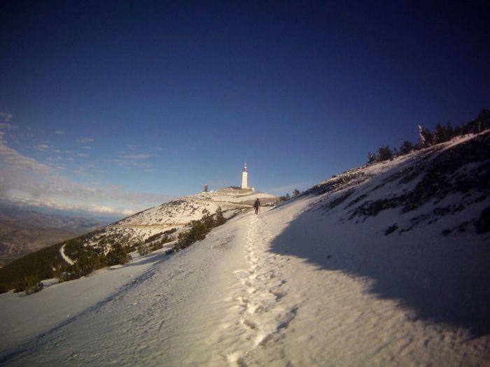 Snow ❄ Friends Hollidays Walking Randonnée :3 Mont Ventoux Lost Way