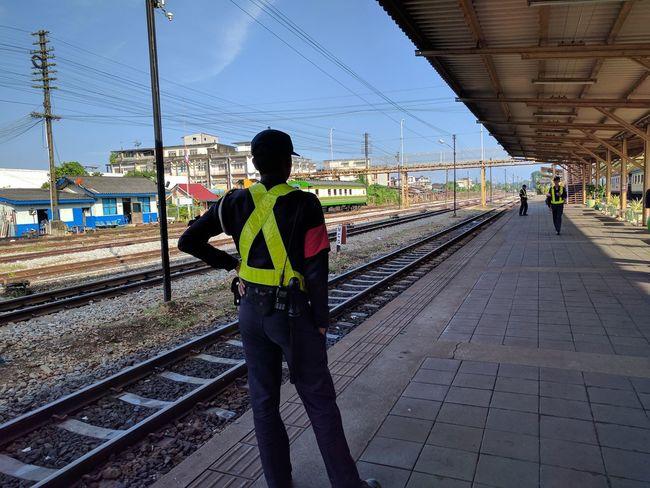 Train Station Transportation Suratthani Thailand