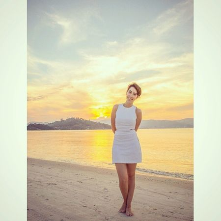 Paraíso Paradise Portobelo Sunset Beach Yellow Sun Sky Amazing Pordosol Praia