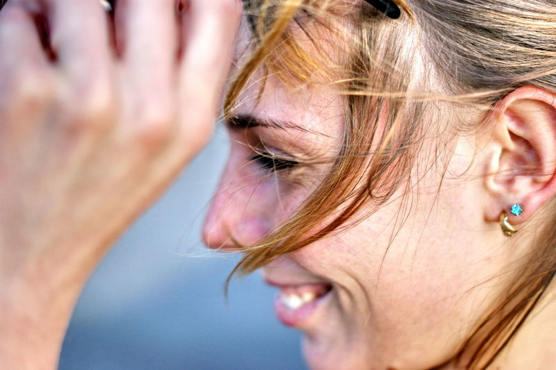 Women Hair Human Body Part Close-up Body Part Portrait One Person Emotion Blond Hair Human Face Young Adult Headshot Human Hair Females Looking Sadness Beauty Depression - Sadness Teardrop Hairstyle Beautiful Woman Contemplation Profile View Girl Sashalmi