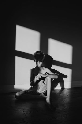 Light Lines The Portraitist - 2018 EyeEm Awards The Week Of Eyeem Child Childhood Indoors  Lifestyles One Person Shadow Window Young Adult
