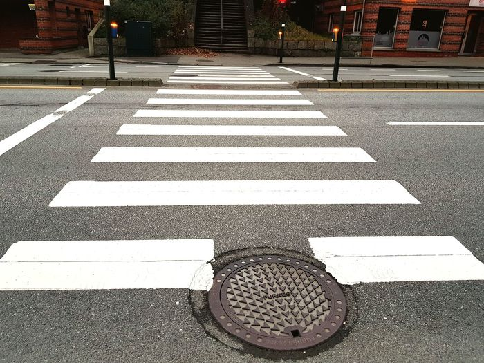 Street Road Marking Transportation Striped Road Sign City No People Asphalt Outdoors Communication Road Day Street