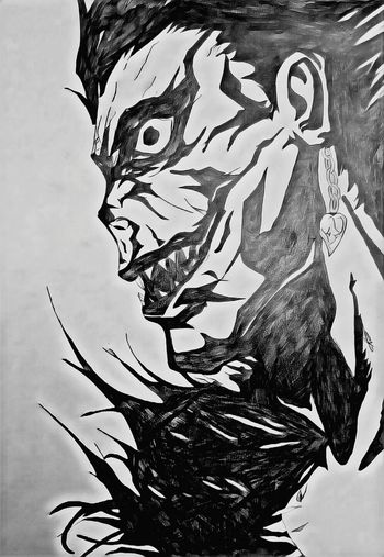 DeathNote Ryuk Drawing ✏ First Eyeem Photo