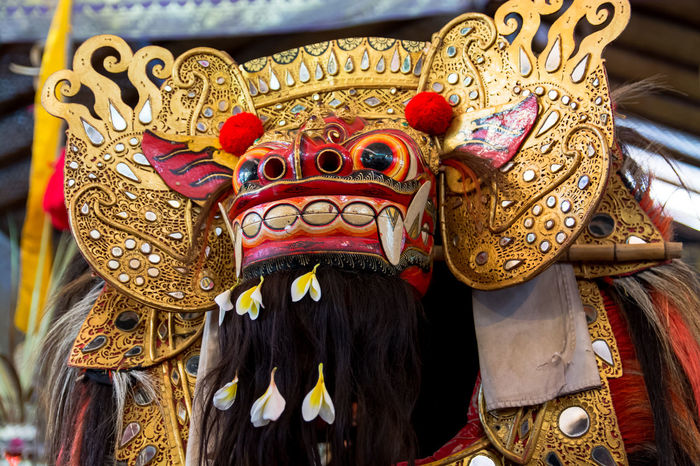 Asian Culture Balinese Culture Balinese Dance Balinese Dancing Barong Colorful Craft Culture Custom Dance Day Fear Handmade HEAD Low Angle View Mask Ornate Theatre Traditional Traditional Culture The Portraitist - 2017 EyeEm Awards