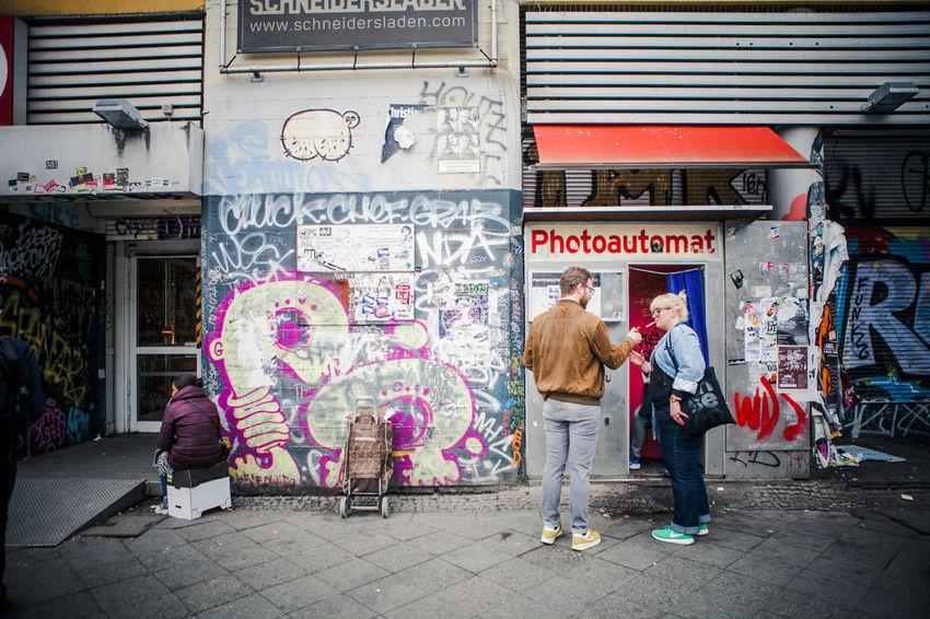Kotti Photoautomat Streetphotography People Watching