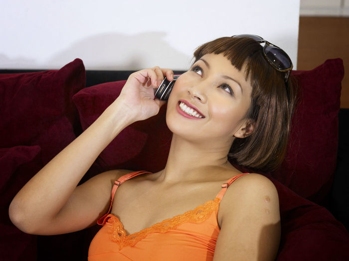 shopping at clothing store Asian  Business Fashion Free Time Happiness Shopping Beautiful Woman Beauty Bouquet Clothing Store Discount Enjoying Life Female Fun Time Garment Happiness Leisure Activity Lifestyles Portrait Real People Shopping Mall Smiling Using Phone Weekend Activities Women