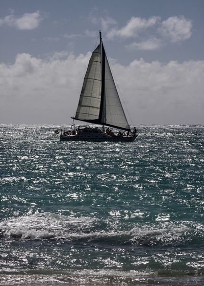 Sailing, Indian Ocean, Mauritius Dreaming Indian Ocean Wave Beauty In Nature Cloud - Sky Clouds Cruise Horizon Horizon Over Water Luxury Mauritius Nature Nautical Vessel Outdoors Sailboat Sailing Sailing Boat Scenics - Nature Sea Sky Transportation Travel Water Waterfront Île Aux Cerfs Summer Sports My Best Travel Photo