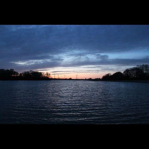 Sunset Salzgitter See Salzgitter Salzgittersee Fotografie Wasser See Sea